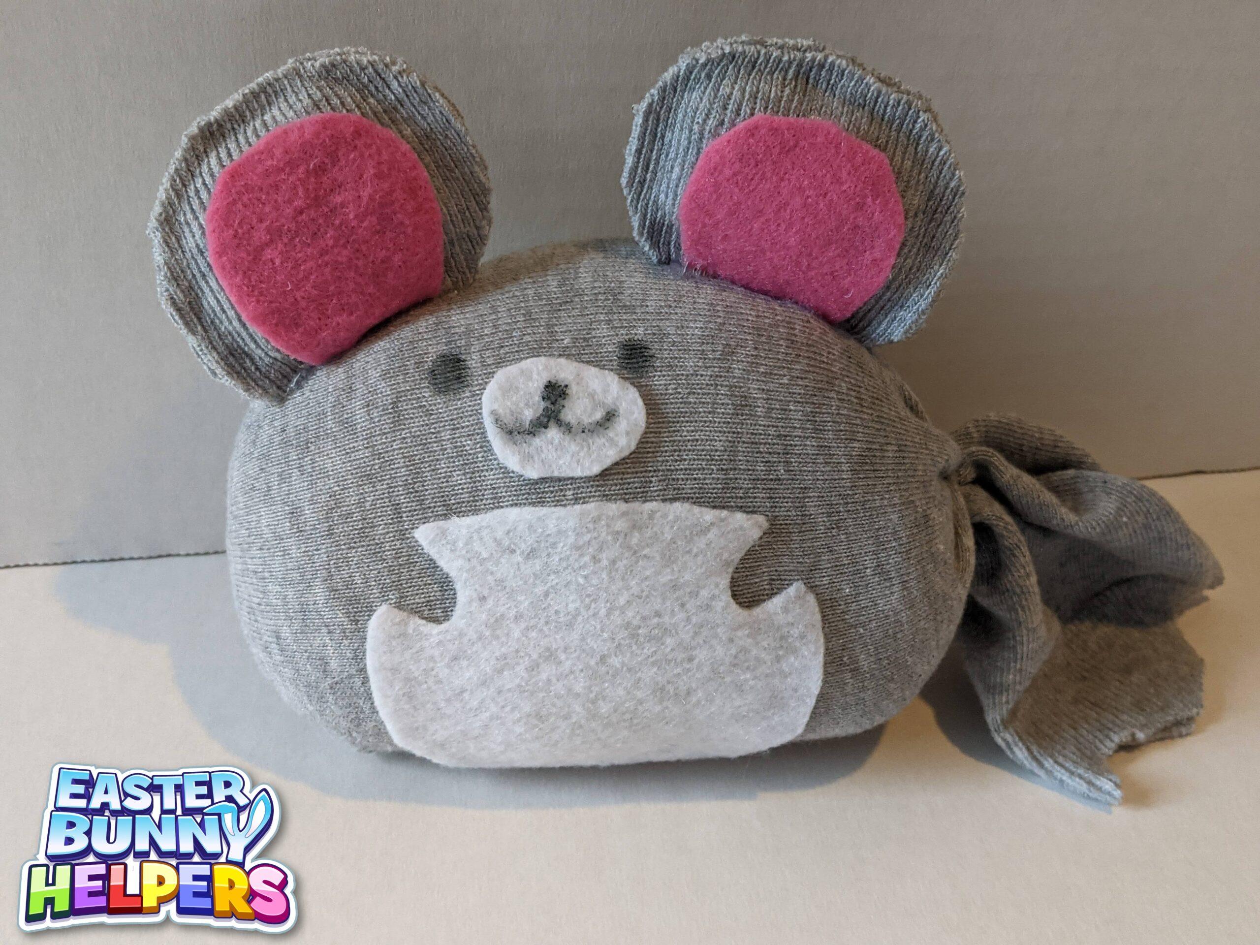 Chinchilla Easter Bunny Helper Craft